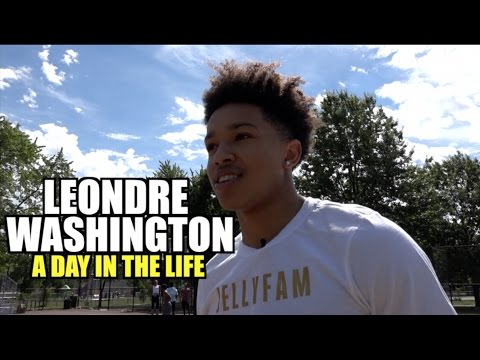 Leondre Washington: A Day In The Life |