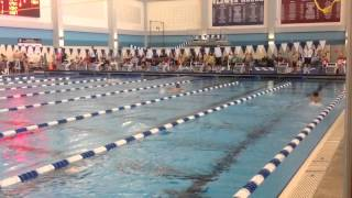 New 10 & Under boys 100 meter butterfly NAG record!!