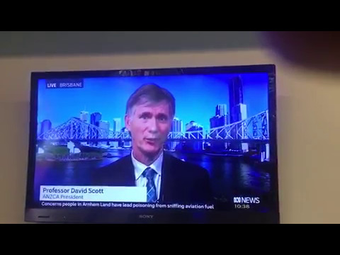 ABC interview with Professor David A Scott about anaesthetists' welfare