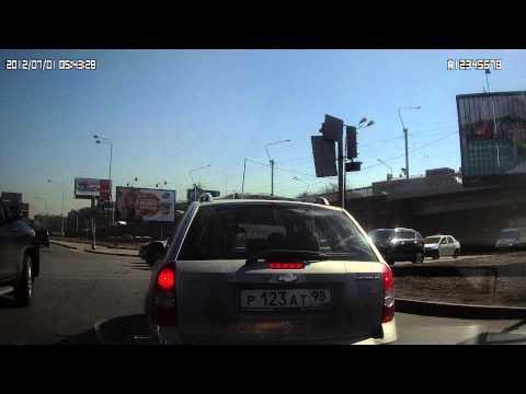 Запись видео с автомобильного видеорегистратора ProfiLine DVR-525