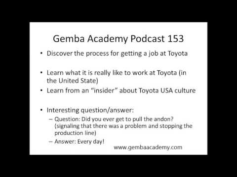 What's it like working at Toyota?
