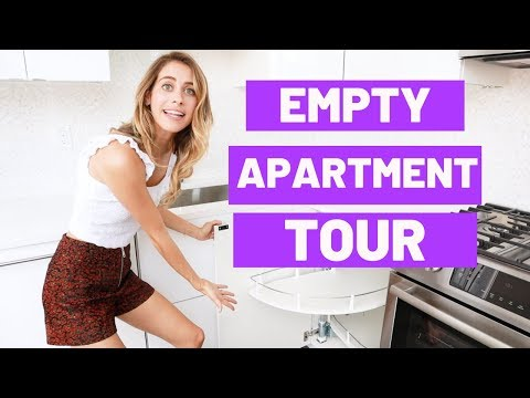 OUR EMPTY NYC APARTMENT TOUR (2-Bedroom / 2-Bathroom) | Lucie Fink