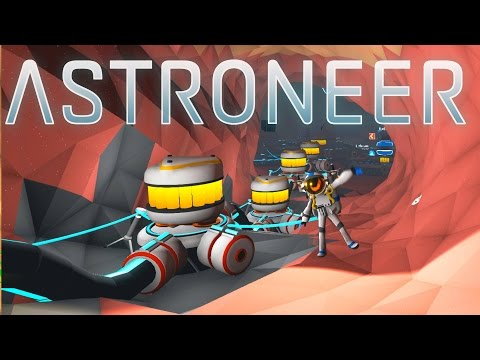 Astroneer - Ep. 9 - Underground Trade Station and Refinery! - Let's Play Astroneer Gameplay