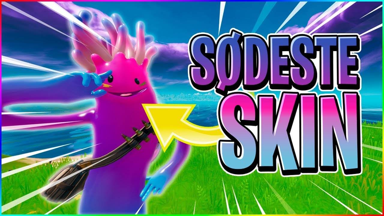DET SØDESTE SKIN I FORTNITE! - Dansk Fortnite