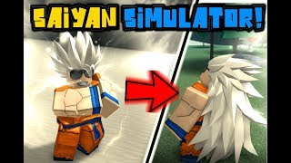 ULTIMATE SAIYAN SIMULATOR! ROBLOX!