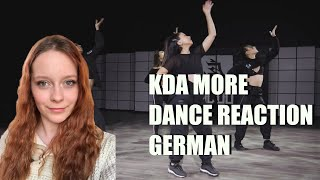 (GER) REACTION - K/DA - MORE DANCE Official Choreography Video | LEAGUE OF LEGENDS