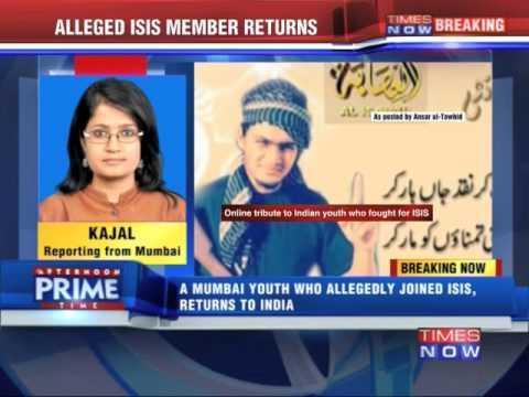 Alleged ISIS Member Returns To Mumbai
