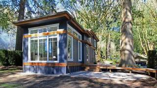 The Salish Luxe Tiny House By Wildwood Cottages - Tinyhousetour