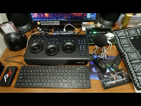 DaVinci Resolve Micro Panel を使ってみた?