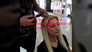Y Pranm Yanm Kopmu Bir Saca Mikro Kaynak Tedavisi 2m Kuafor Antalya