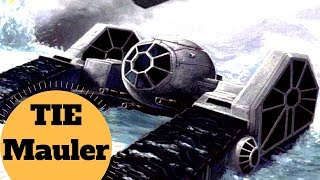The TIE Fighter TANK! - TIE ap-1 - TIE Mauler - Star Wars Imperial Ships Breakdown - Empire at War