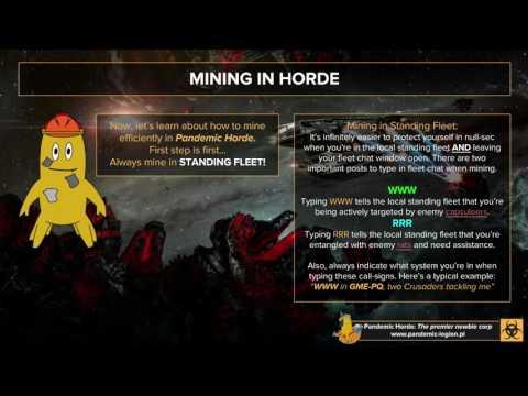 Horde Flightschool: Mining in Null-Sec