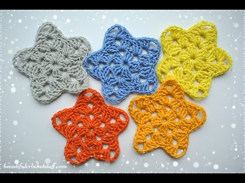 Crochet Star Pattern Youtube