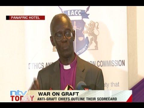 Anti-graft chiefs outline their scorecard on the war on graft