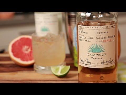 Grapefruit Tequila Cocktail Recipe | Happiest Hour