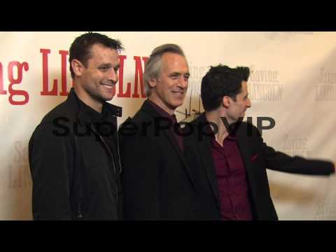 Lea Coco and Tom Amandes at 'Saving Lincoln' World Premie...