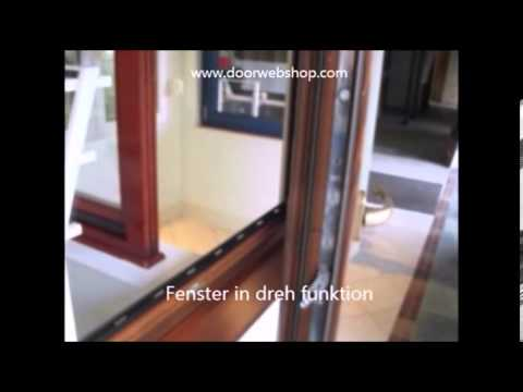 delta holzfenster 78 mm drehkipp youtube. Black Bedroom Furniture Sets. Home Design Ideas