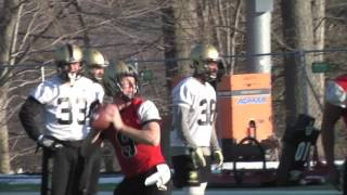 Army Football: First Day Of Spring Practice 3-21-17