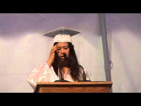 Sophia Chua-Rubenfeld grad speech