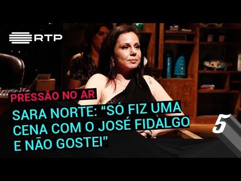 Sara Norte: 'Só fiz uma cena com o José Fidalgo e não gostei' | 5 Para a Meia-Noite | RTP
