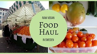 Food Haul & Cost Of Raw Food In Sweden