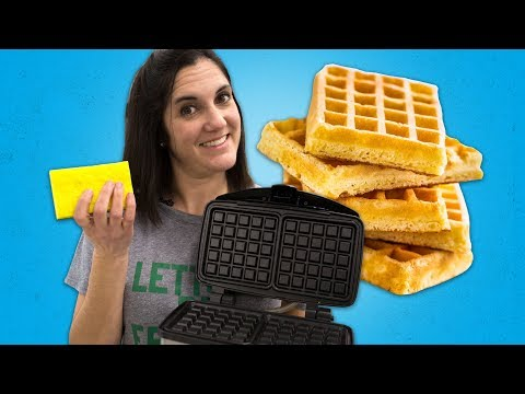 How to Clean a Waffle Iron | Food 101 | Well Done