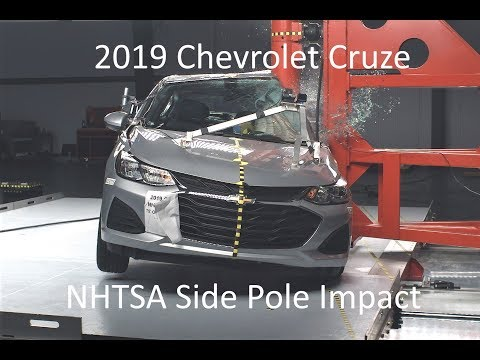 2019 Chevrolet Cruze NHTSA Side Pole Impact
