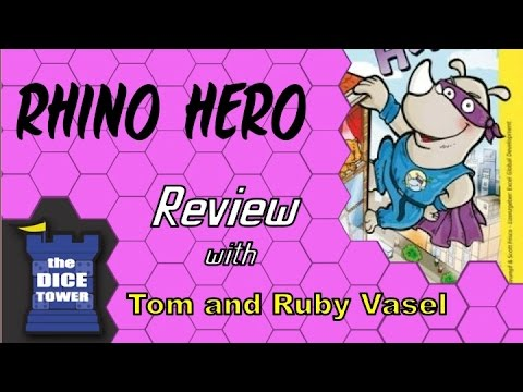 Rhino Hero Review - with the Vasel Girls