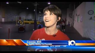 Dog Agility Sports Therapy For Special Needs Children On Wbns-10tv Columbus, Ohio