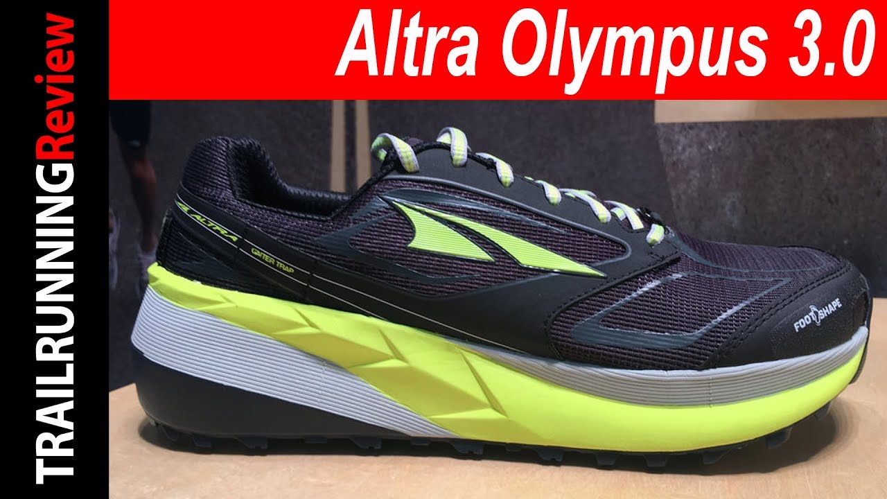 Altra Olympus 3.0 Preview - YouTube