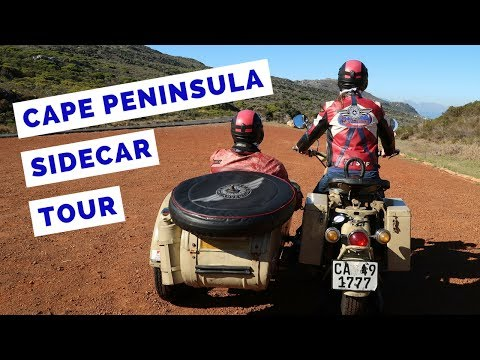 Cape Peninsula Tour by Sidecar | South Africa Travel Vlog
