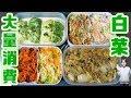 【白菜大量消費】白菜で作り置き 6品の作り方【kattyanneru】
