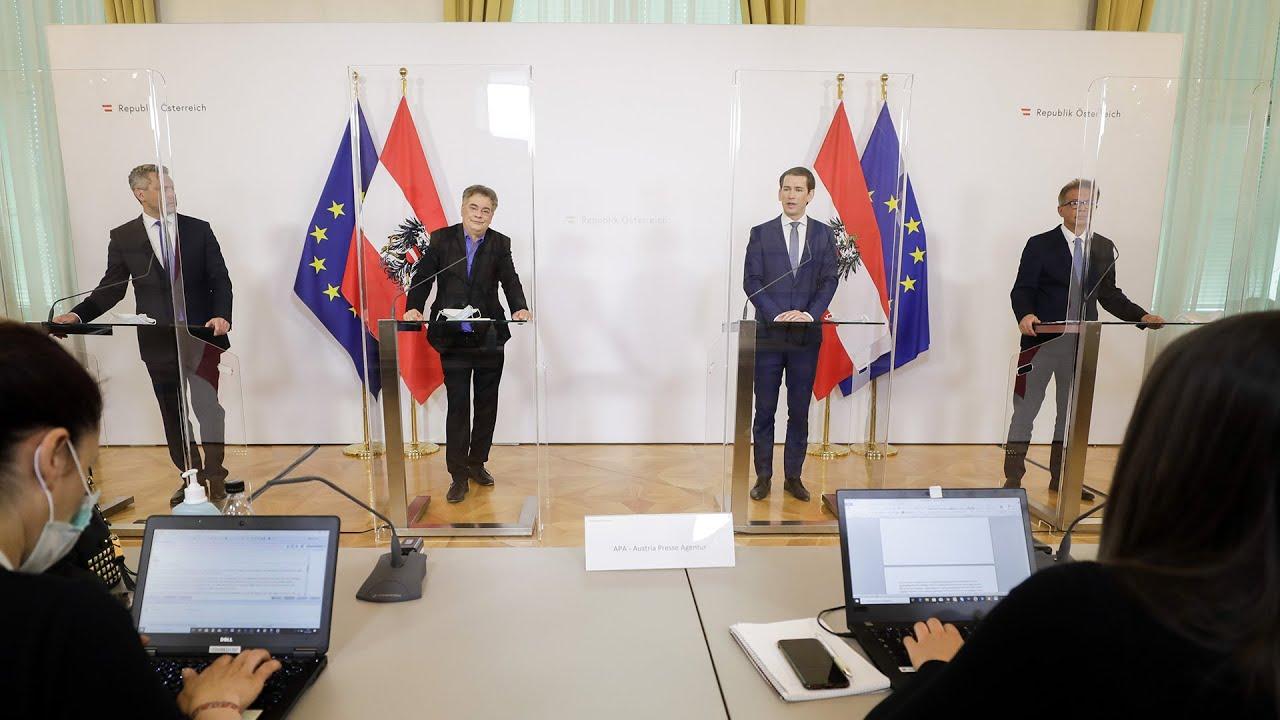 Pressekonferenz österreich