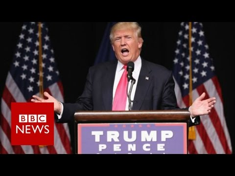 Donald Trump 'encourages Russia to hack Clinton emails' BBC News