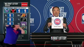 Reacting To The 2020 NBA Draft Lottery