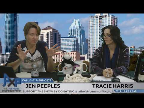 Atheist Experience 21.46 with Tracie Harris and Jen Peeples