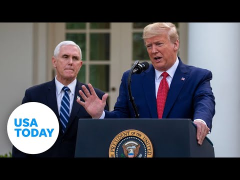 President Trump and Coronavirus Task Force update on pandemic: 3/30/2020 | USA TODAY