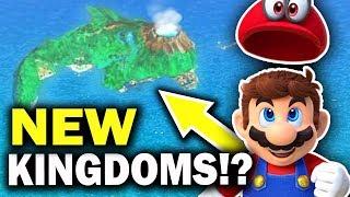 ISLE DELFINO & Possibly MORE Kingdoms in Super Mario Odyssey?!
