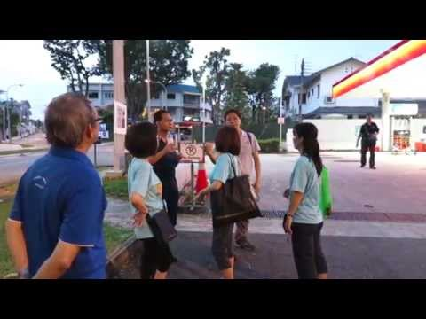 SINGAPORE: Kampong Chantek Walk 2
