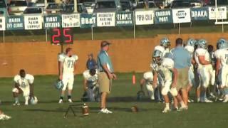Jordan Thacker 2008 @ Maiden High School