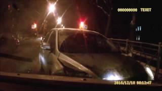 АВАРИЯ с участием трёх машин в Пушкине.