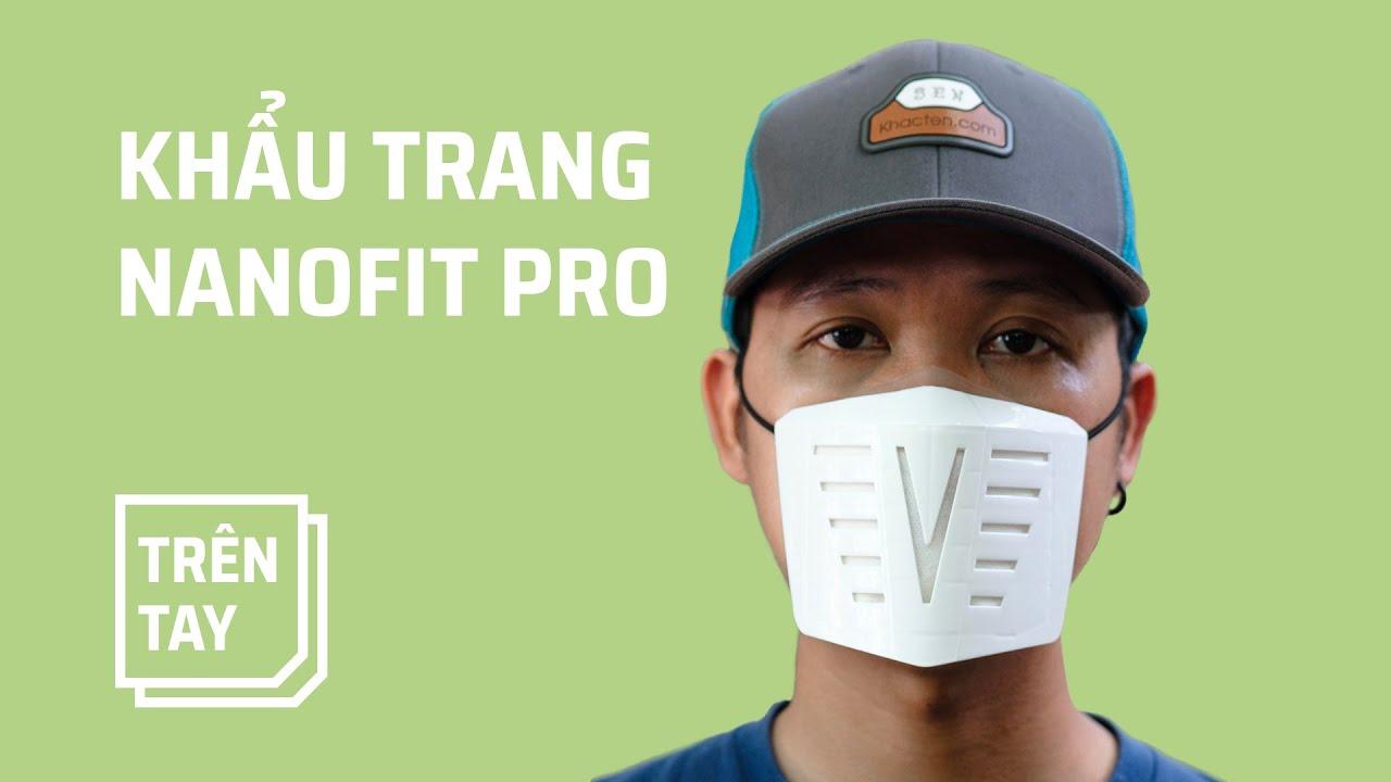 Nanofit Pro: khẩu trang màng lọc 4 lớp, dùng đi dùng lại nhiều lần