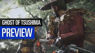 Ghost of Tsushima PREVIEW / VORSCHAU - aktives Schnetzeln als einsamer Samurai