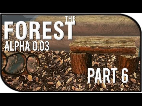 The Forest Gameplay Part 6 - Wood Bench! (v0.03)