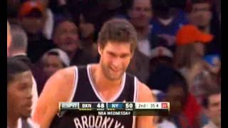 Brooklyn Nets VS New York Knicks Highlights 19.12.2012.