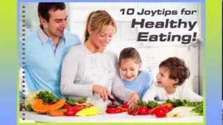 10 joytips on healthy eating by james erdt of joyzone