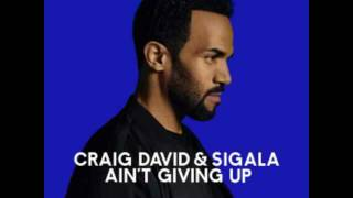 Craig David & Sigala - Ain