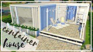 Dom w kontenerze - The Sims 4 Speed Build