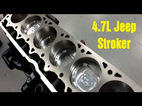 4.7L Jeep Stroker Engine from ATK - Wrenchin' Up - YouTube