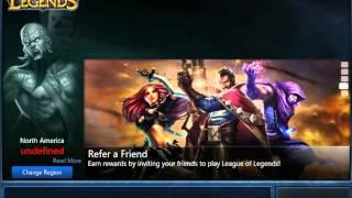 League of legends Client Undefined (Fix)